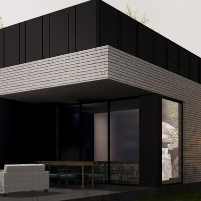 budynek jednorodzinny projekt architektoniczny firmy zewnętrznej