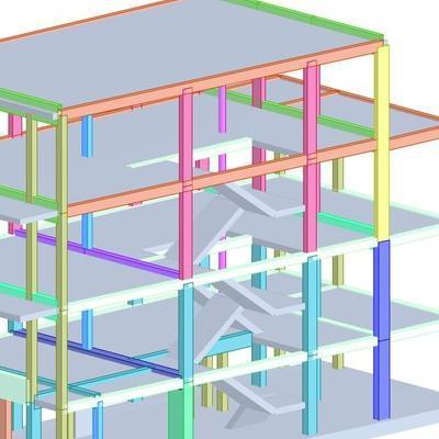 budynek segmentowy mieszkalny projekt konstrukcji dortech